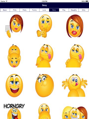 Sexual emoji pictures