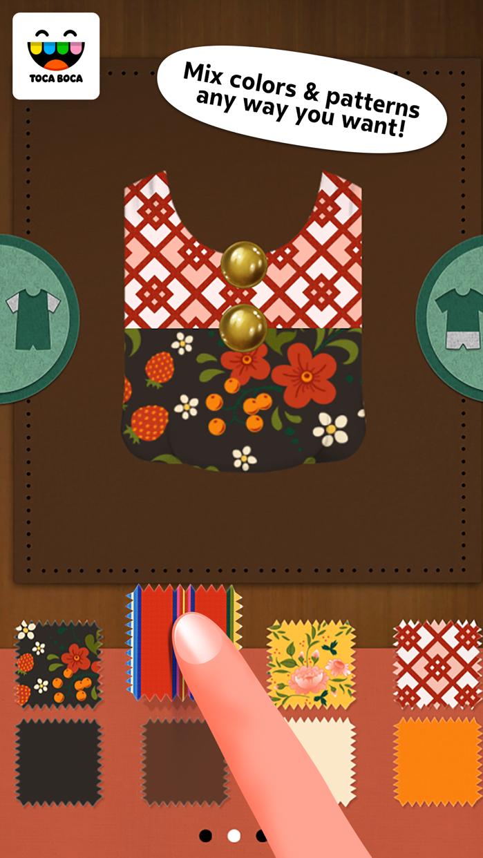Toca Tailor Fairy Tales Screenshot
