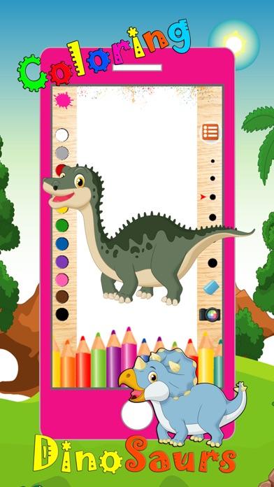 Livre Coloriage Dinosaure.Telecharger Dinosaure Livre A Colorier 2 Animaux Dino Dessiner La
