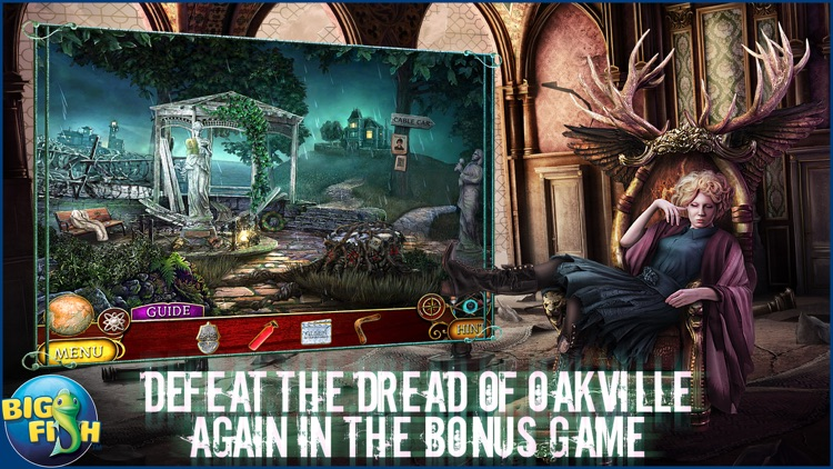 Phantasmat: The Dread of Oakville - A Mystery Hidden Object Game (Full) screenshot-3