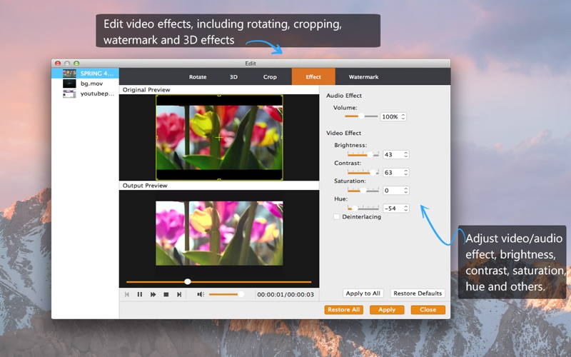 Screenshot #3 for MP4 Converter - MP4 to MP3