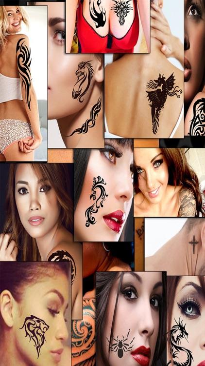 Tattoo Saloon - Add Virtual Tattoos To Your Body screenshot-3
