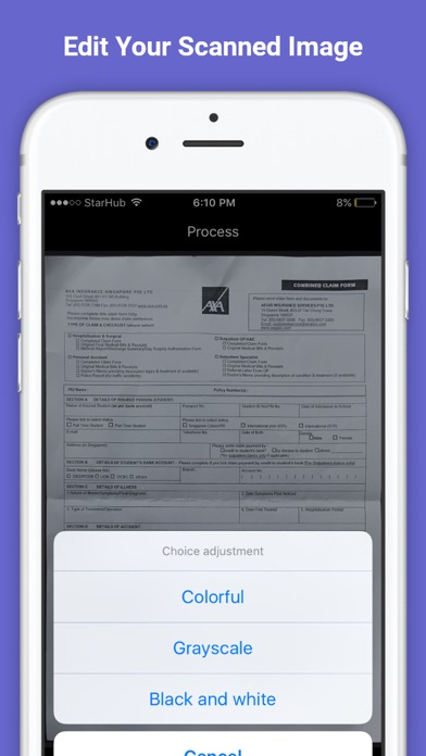 My scanner pro pdf scanner ocr printer for documents receipts screenshot 6 for my scanner pro pdf scanner ocr printer for documents reheart Gallery