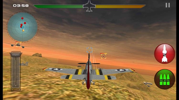 Modern  War Plane Combat Air Attack - 3D Fighter Airplanes Flight Simulator screenshot-4