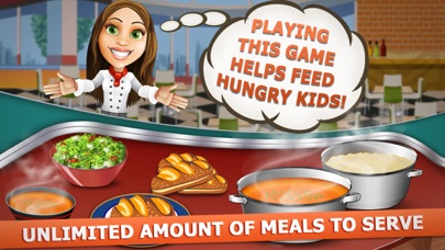 フード 裁判所 熱 :  カフェテリア スーパー シェフ サンドイッチ レストラン スクランブルのスクリーンショット4