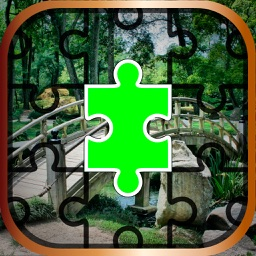 Garden Jigsaw Puzzle Game – Unscramble Beautiful Spring and Summer Landscape Pictures