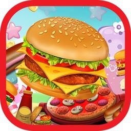 Cookie Make Berger Match 3-games maker food hamburger for girls and boys