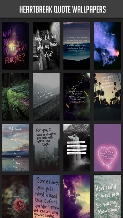 Heartbreak Quote Wallpapers