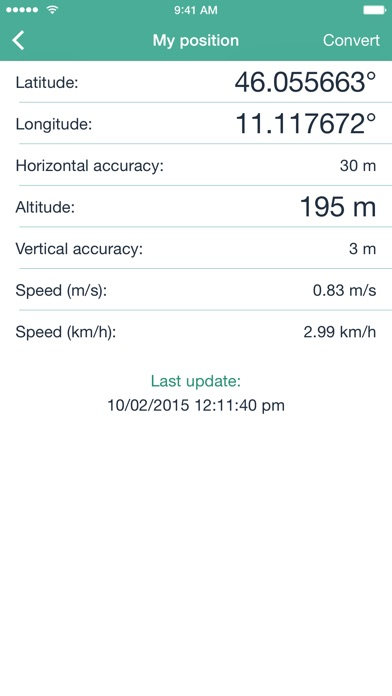 GPS Utility screenshot one