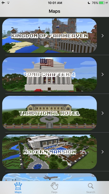 Best Maps for Minecraft  - Download Mine Maps for Pocket Edition