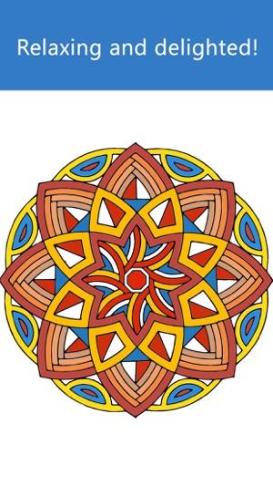juegos para colorear Mandala de la pintura para adultos y niñas ...