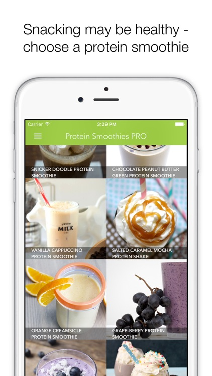 Protein Smoothies PRO - smoothies & shakes for healthy living screenshot-0