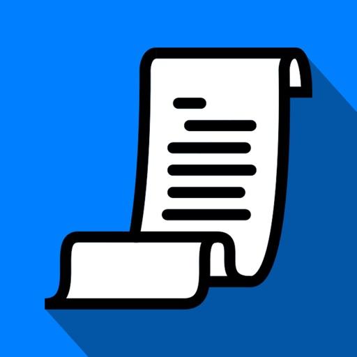 myReceipts - Personal Receipt Organizer app logo