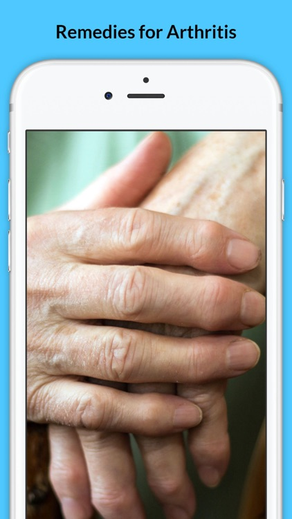 Arthritis - Signs of Arthritis and Natural Remedies screenshot-0