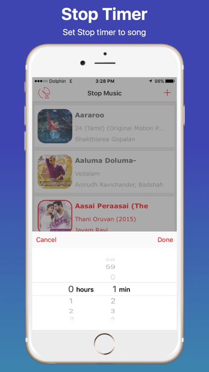 Stop and Timer Music Player screenshot-4