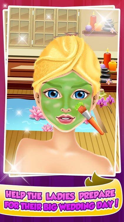 Wedding Salon Makeover & Spa Girl Games