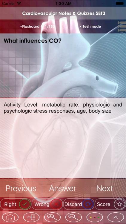 Cardiovascular Exam Review - Study Notes & Quiz - 3300 Flashcards Concepts & Q&A screenshot-3
