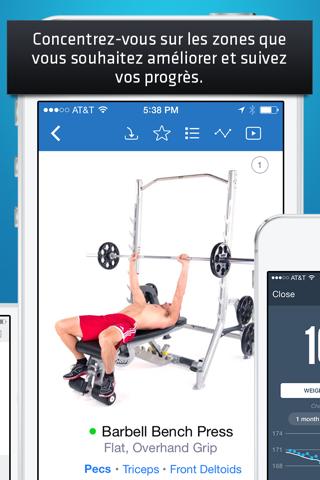 Fitness Buddy+: Gym Workouts screenshot 3