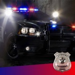 Hack Police Siren Sound ~ The best emergency radio car sounds with reb/blue strobe (FREE)