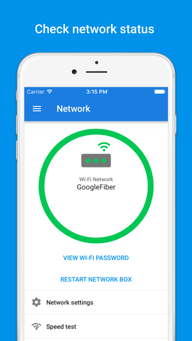 Google Fiber - network and account manager-1