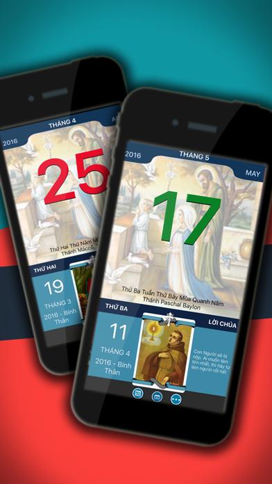 Lịch Công Giáo: lịch ngày lễ trọng, âm lịch, lời Chúa hằng ngày screenshot one