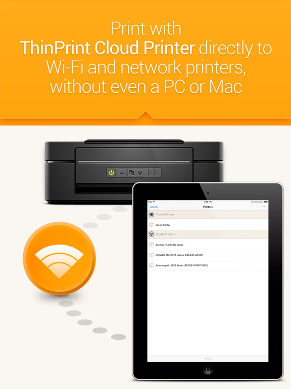 how to connect iphone to printer via wifi