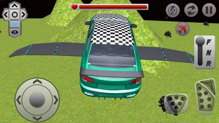 Flying Racing Rivals Sports Car Drifting screenshot-4