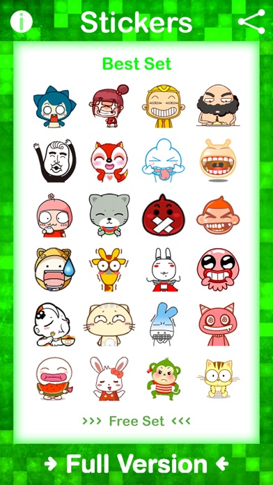 download Stickers Free for WhatsApp, Telegram, Kik, GroupMe, Viber, Snapchat, Facebook Messenger, VK, Tumblr, Instagram & WeChat - Emoji & Gif Animated Sticker apps 3