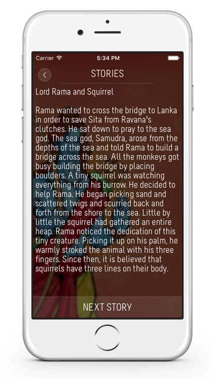 Lord Rama : Mantras, Stories, Songs, Wallpapers, Krishna Temples screenshot-3