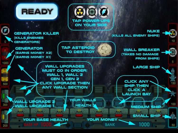 Galaxy Invaders HD - Multiplayer Space War Strategy screenshot-3