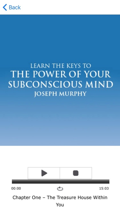 The Power of Your Subconscious Mind by Joseph Murphy Meditation Audiobook screenshot-3