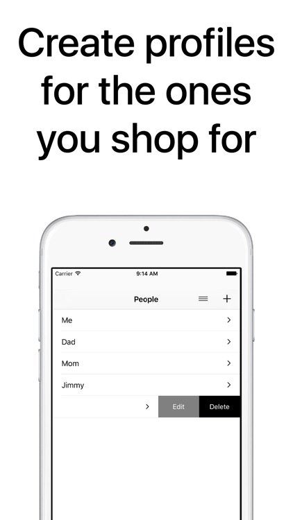 Clothes Organizer - Size Manager for Shoes, Clothing, and Fashion Shopping