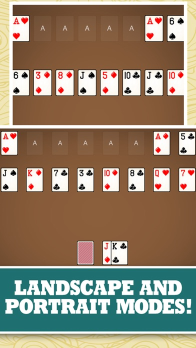 Milligan Harp Solitaire Free Card Game Classic Solitare