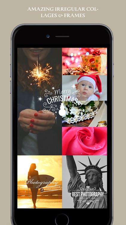 Pic Lab Split Lens Pro - photo maker, selfie editor & camera blender screenshot-3