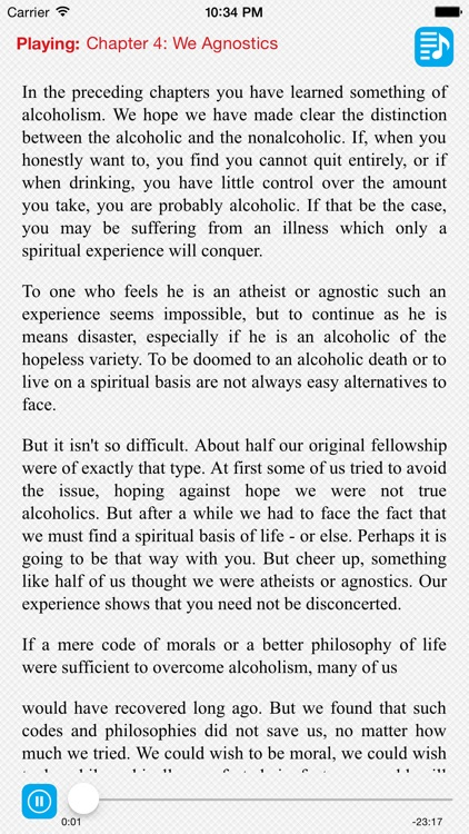 AA Big Book of Alcoholics Anonymous screenshot-3