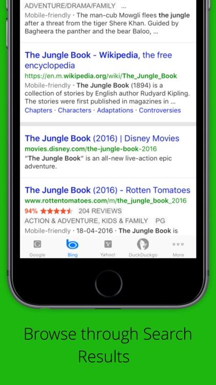 Universal Search Engine screenshot-3