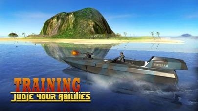 海軍警察ボートの攻撃 - レアル陸軍船舶セーリングとチェイスシミュレータゲームのおすすめ画像3