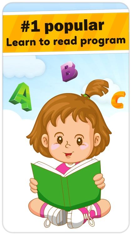 Monkey Junior: kids learn to read English, Spanish screenshot-0