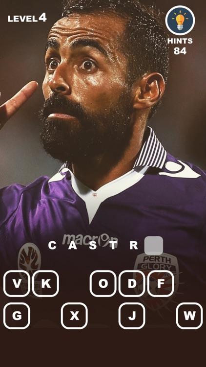 Guess Football Players - a game for A-League fans screenshot-3