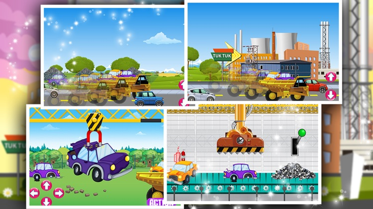 Tuk tuk Factory – Auto rickshaw maker & builder game for kids