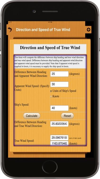 Nautical Calculators screenshot-4