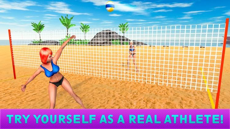 Girls Beach Volleyball Championship 3D Full