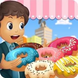 Donut Maker Shop 2016 – Sweet Bakery Chef Adventure Crazy Girls Kitchen Cooking Games