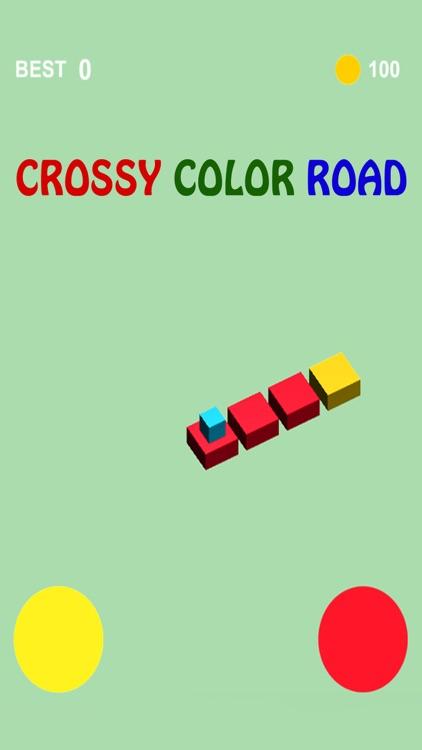 Crossy Color Road