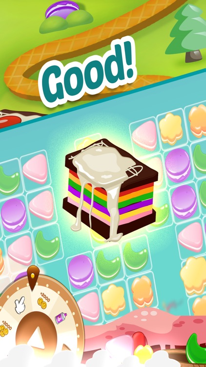 Cookie Match 3 Story - Cookies Smash Jam Sweet jelly Cupcake Puzzle Mania!