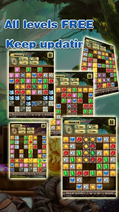 Gem Quest - Jewel Games Puzzle screenshot four