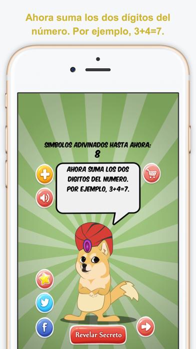 I Read Your Mind, Español (Leo Tu Mente) screenshot two