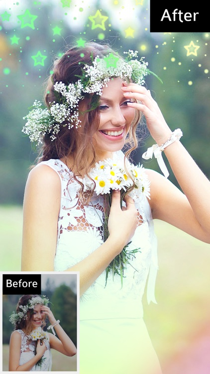Bokeh Photo Editor – Colorful Light Camera Effects screenshot-0