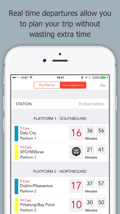 Train Stop - A BART Trip Planner