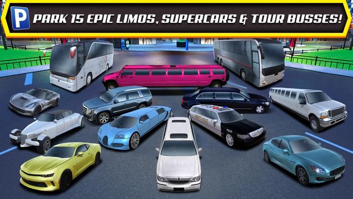 Las Vegas Valet Limo and Sports Car Parking Screenshot